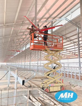 Các loại xe thang nâng người sửa chữa điện