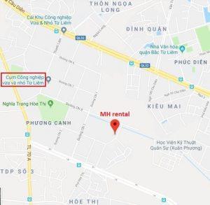 địa chỉ MH rental