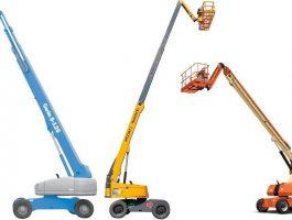 Bán xe nâng người 35m boom Lift Aichi