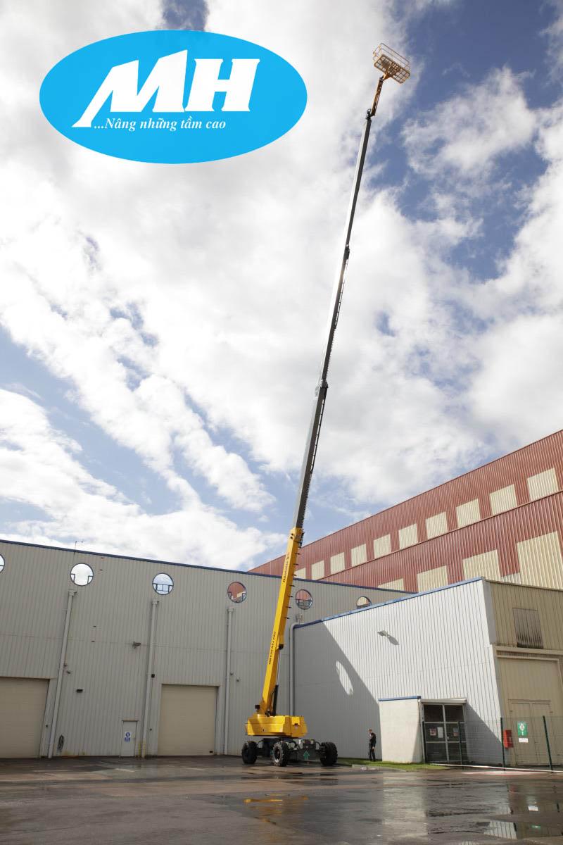 Xe boom lift Haulotte vươn đến tương lai