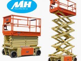 Ưu điểm của dịch vụ cho thuê xe nâng người cắt kéo tại MH Rental