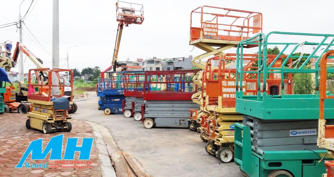 MH Rental là đơn vị bán và cho thuê xe nâng người uy tín nhất tại Việt Nam