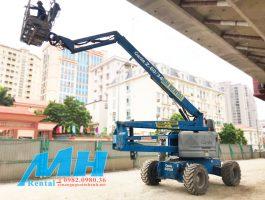 Thuê Xe Nâng Người tại dự án đường sắt trên cao tại Hà Nội