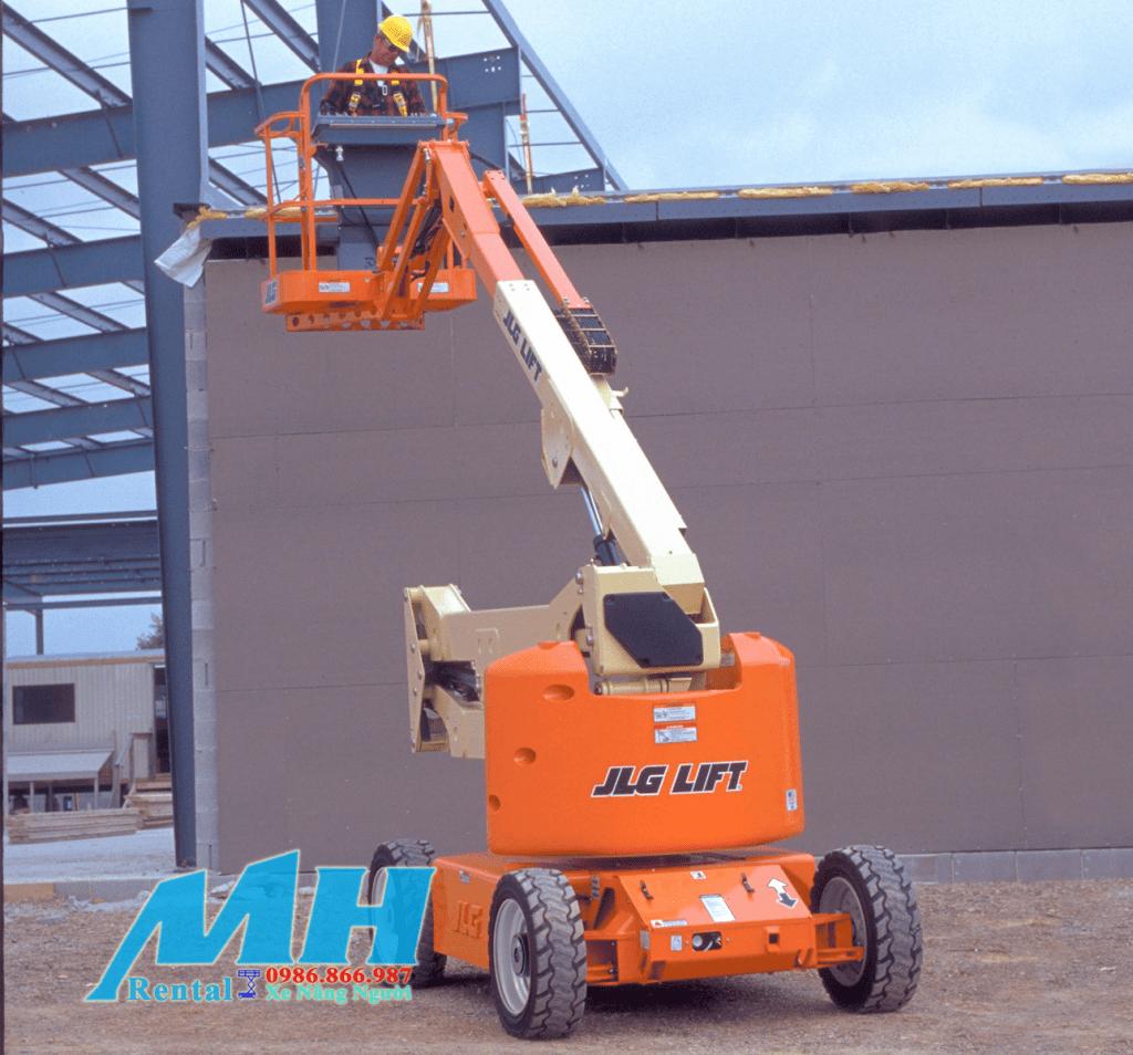 MH Rental cho thuê xe nâng người Boom lift hãng JLG
